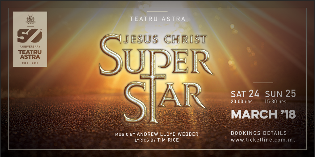 Jesus Christ Superstar Poster 2018
