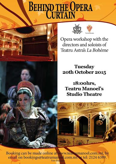 opera la boheme workshop
