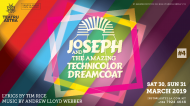 The ever-popular Joseph and the Amazing Technicolour Dreamcoat set for the Astra