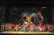 Teatru Astra's Nabucco Set travels to Italy